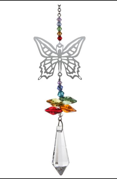 Wild Things Crystal Fantasies Butterfly - Rainbow