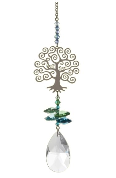 Wild Things Crystal Fantasies Tree of Life - Green
