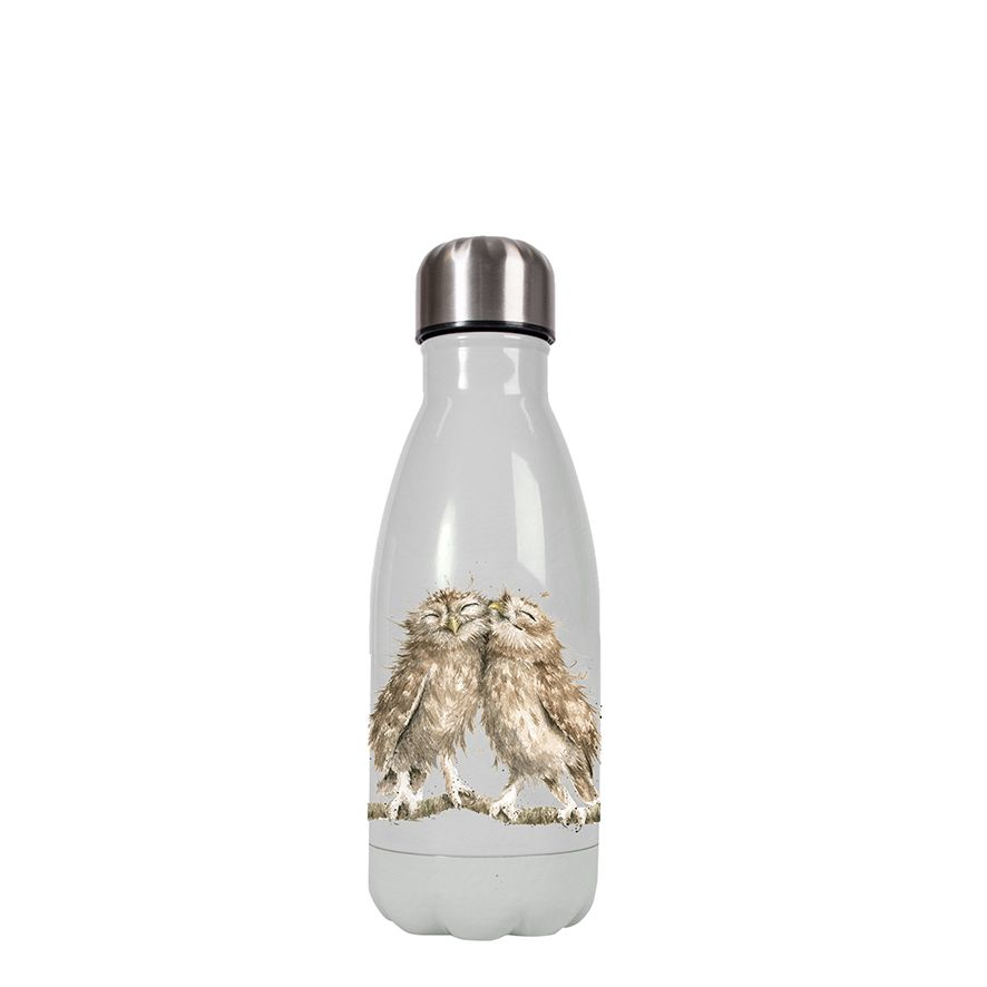 Wrendale Designs Small Owls Water Bottle