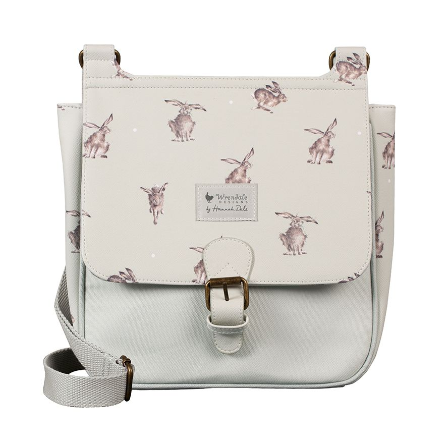 Wrendale Designs Leaping Hare Satchel Bag