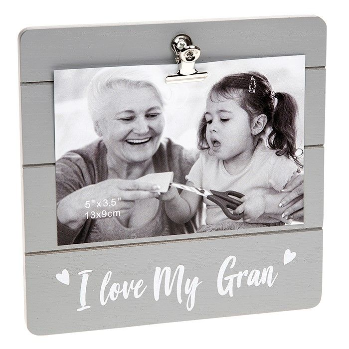 I Love My Gran Clip Photo Frame