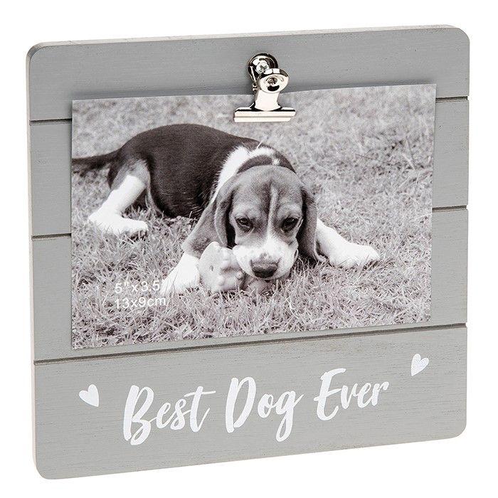 Best Dog Ever Clip Photo Frame