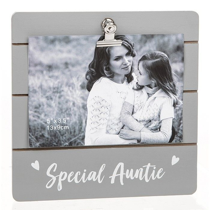 Special Auntie Clip Photo Frame
