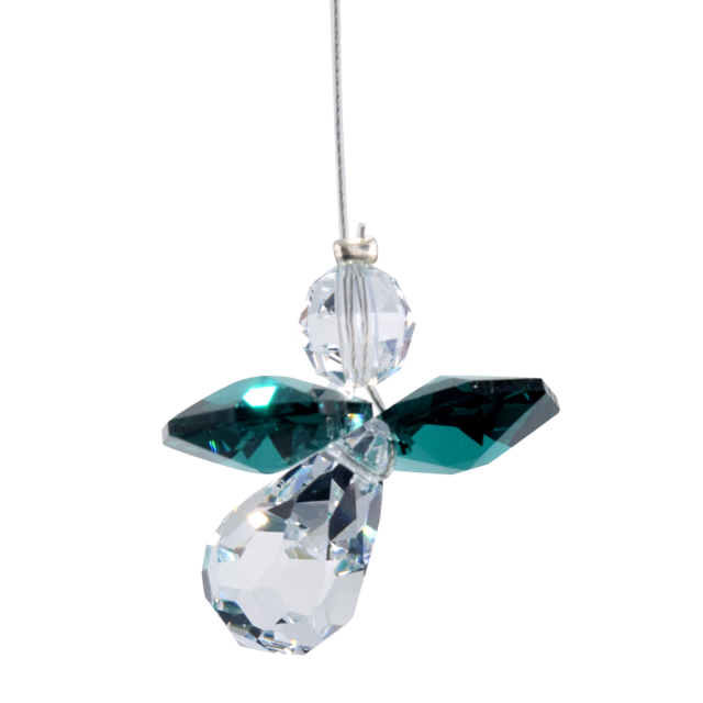 Wild Things Classic Crystal Guardian Angel - Emerald
