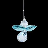 Wild Things Classic Crystal Guardian Angel - Blue Zircon