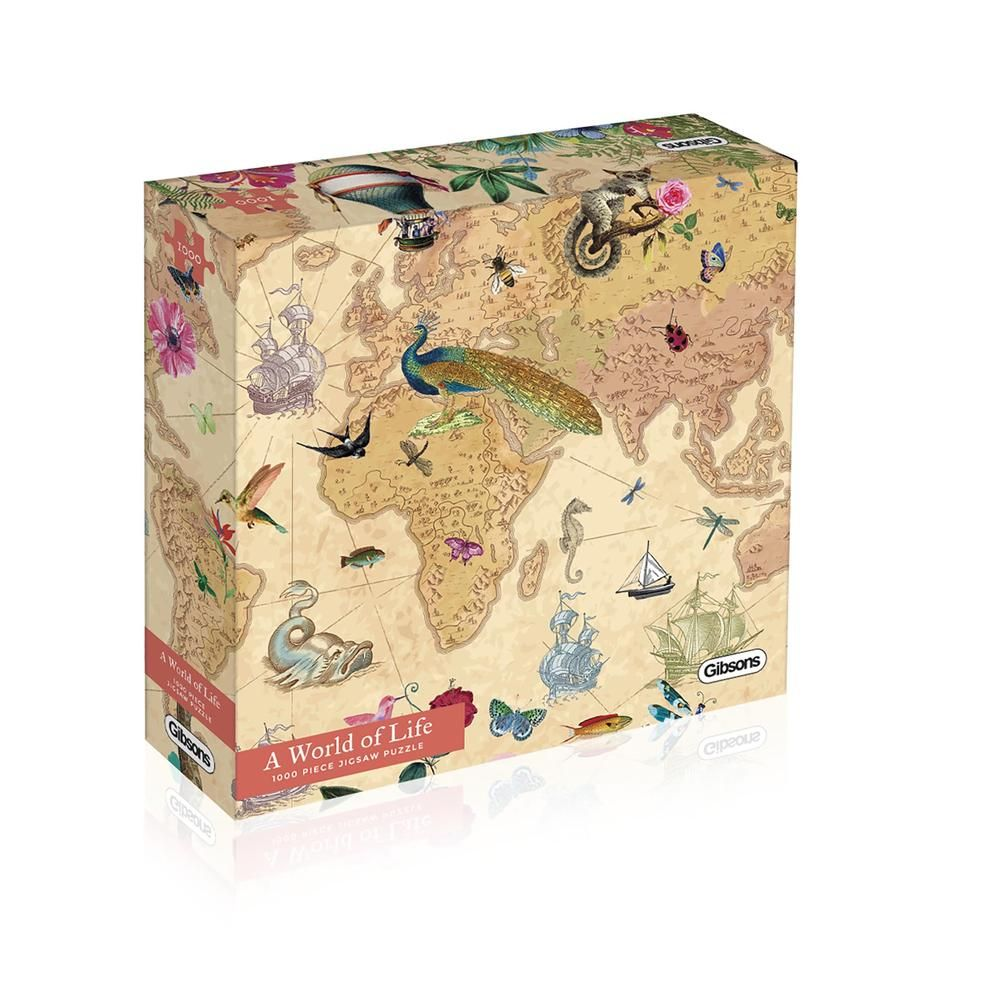 Gibsons World of Life 1000 Piece Jigsaw Puzzle