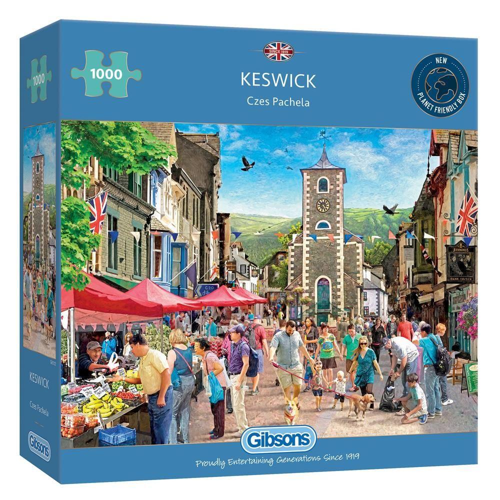 Gibsons Keswick 1000 Piece Jigsaw Puzzle