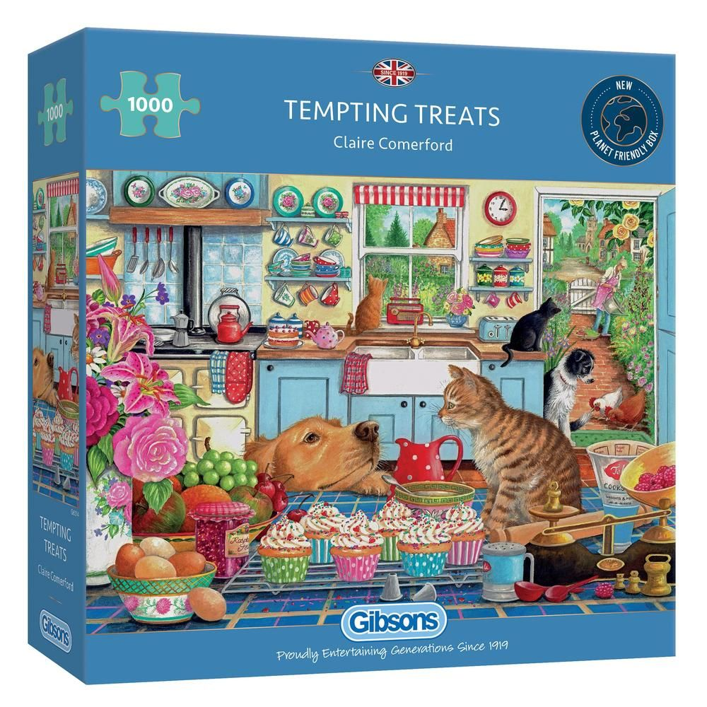 Gibsons Tempting Treats 1000 Piece Jigsaw Puzzle