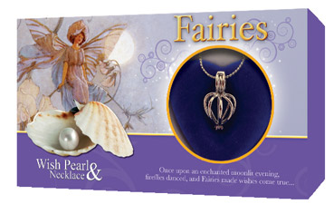 Fairies wish pearl gift set