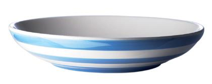 TG Green Cornishware Cornish Blue Pasta Bowl