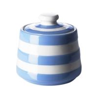 TG Green Cornishware Cornish Blue Covered Sugar Bowl