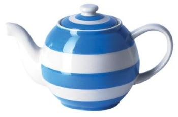 TG Green Cornishware Small Blue Betty 12oz Teapot