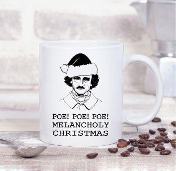 official poe christmas mug black hat