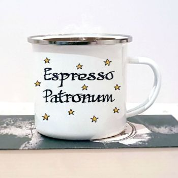 Expresso patronm mug photo with coffee 1