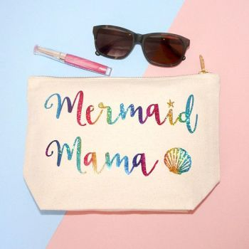 Mermaid Mama Make-Up Bag