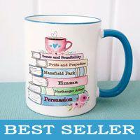 Jane Austen Best Seller Mug