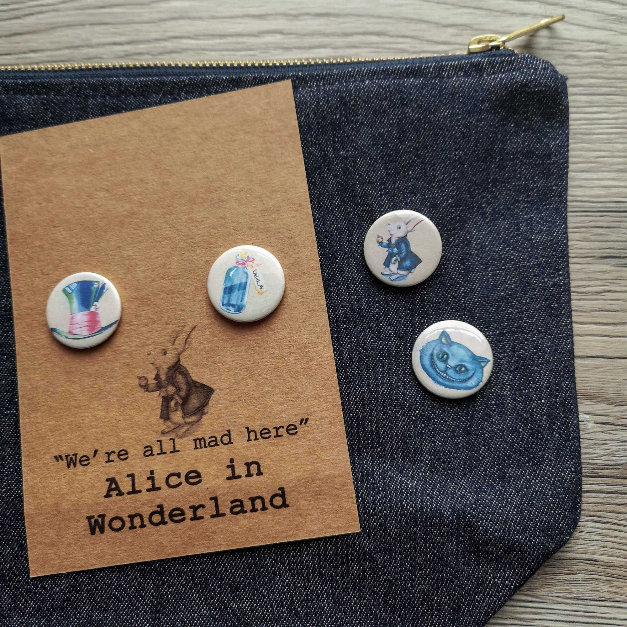 bookish pins and buttons