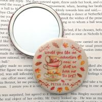 Peter Pan Tea Quote Autumn Themed Mirror