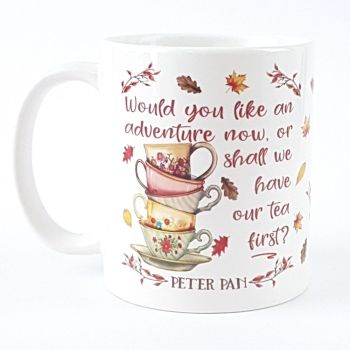 Peter Pan autumn adventure mug
