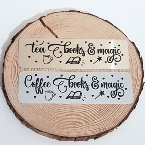 Tea and coffee bookmarks