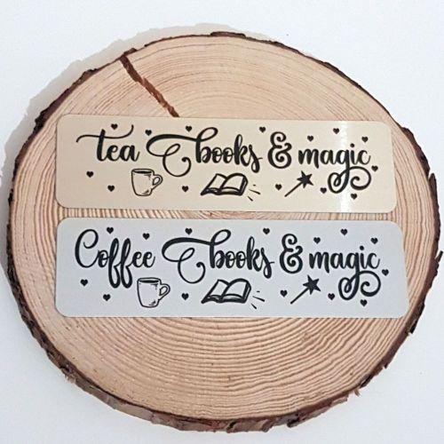 Tea and coffee bookmarks
