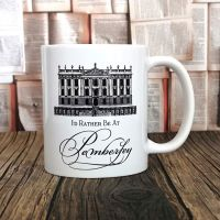 Pride & Prejudice Mug, I'd Rather Be At Pemberley Mug
