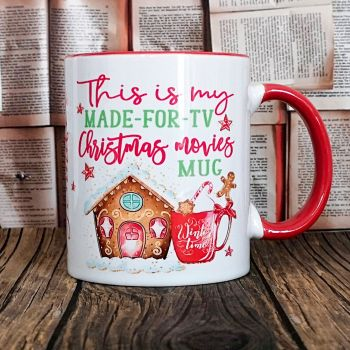 Personalised Christmas Movies Mug, This is my Christmas Mug