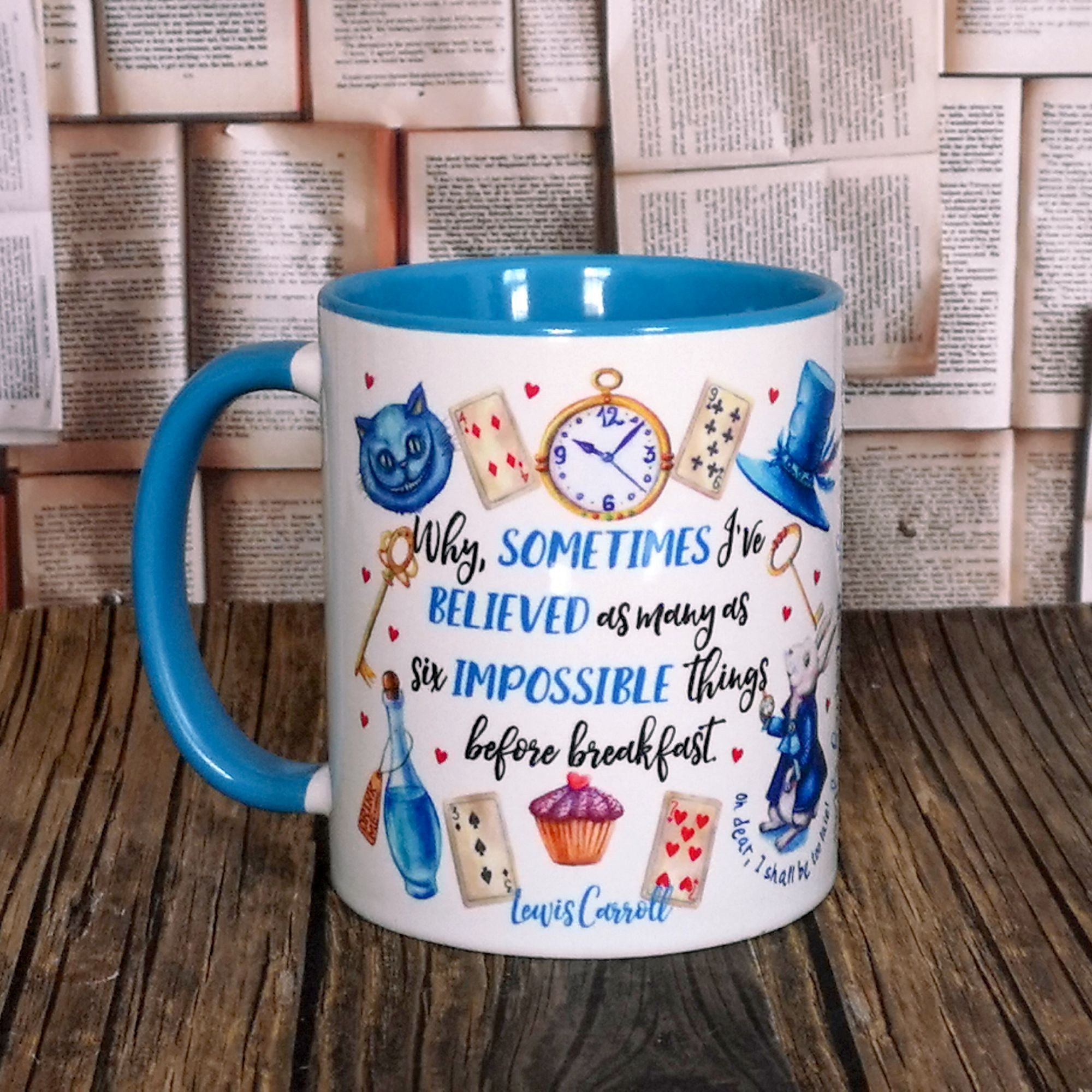 Bookish Mugs and Coasters
