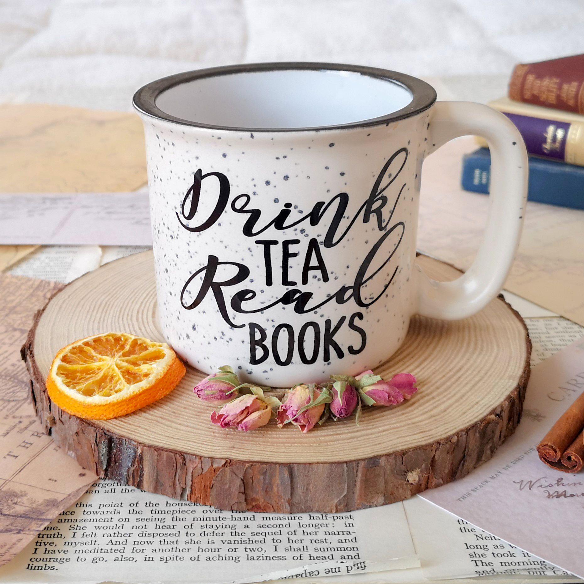 Tea & Books Campfire Mug