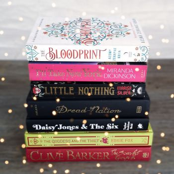 Bookish book stack