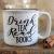 Drink coffee campfire mug