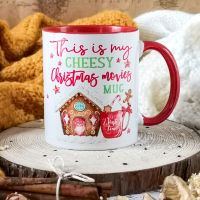Cheesy Christmas Movies Mug, This is my Christmas Mug