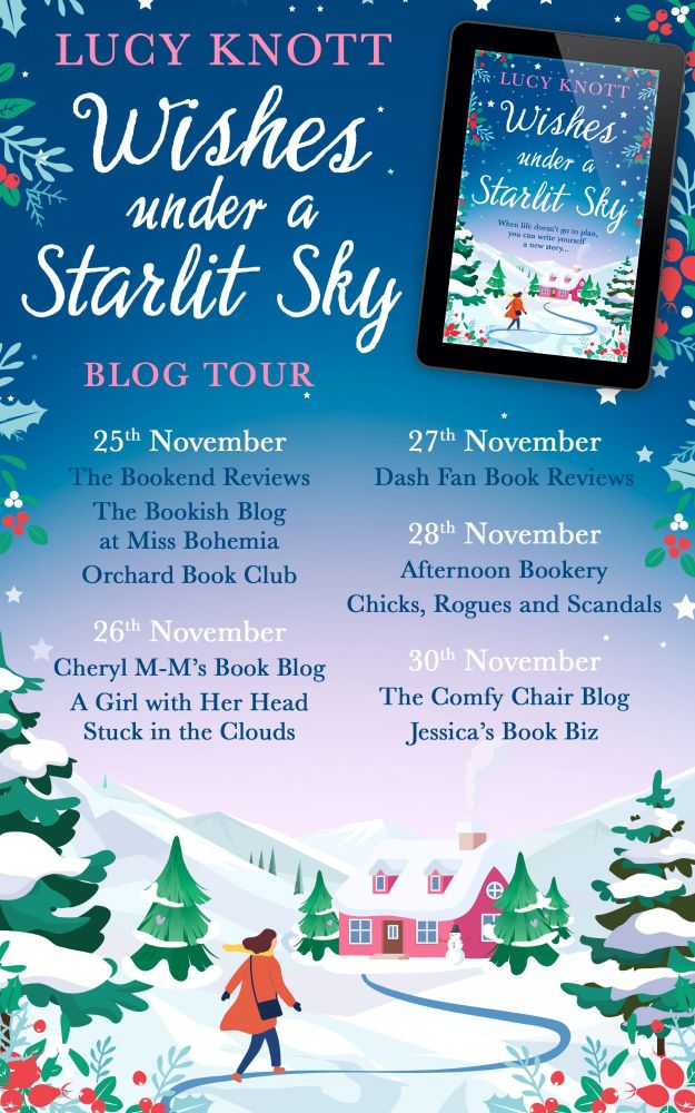 Wishes Under A Starlit Sky Blog Tour Banner