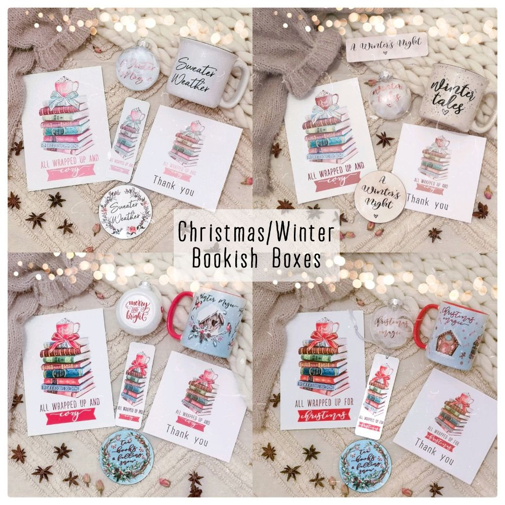 CHRISTMAS & WINTER BOOKISH BOXES