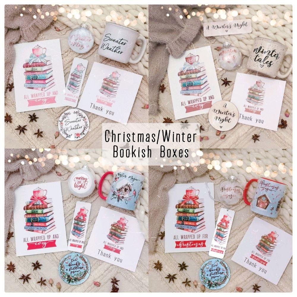 CHRISTMAS & WINTER BOOKISH BOXES