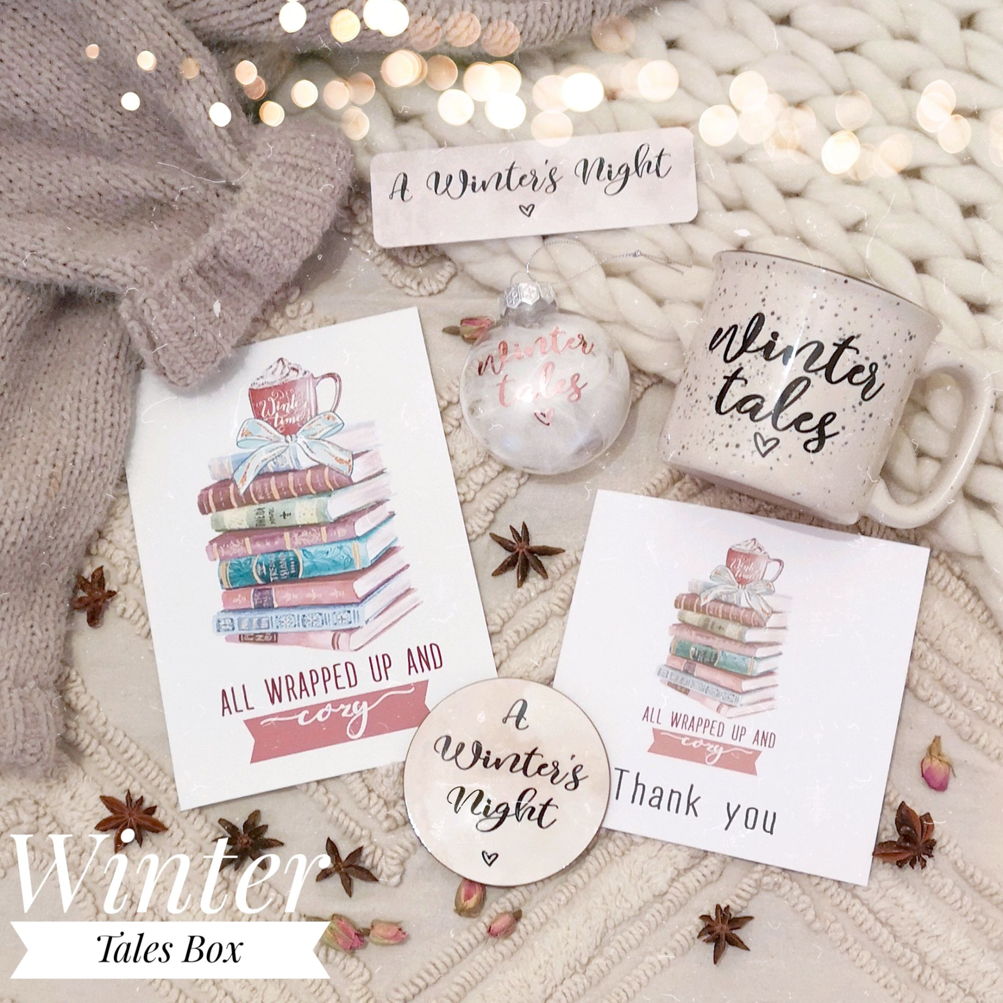 Bookish Winter Tales Box