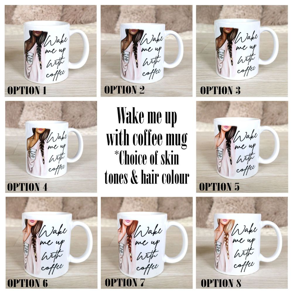 Coffee Mix Skin and hair shades with choices