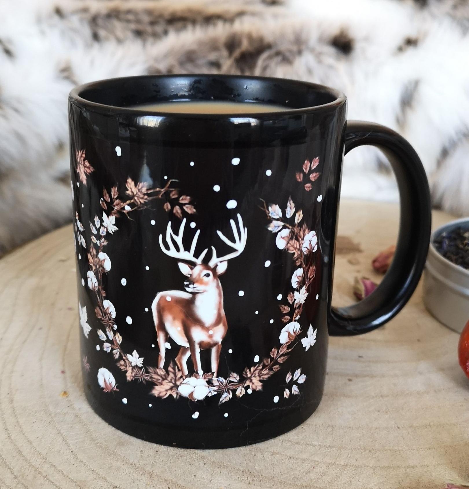 Wild & Free Deer Mug