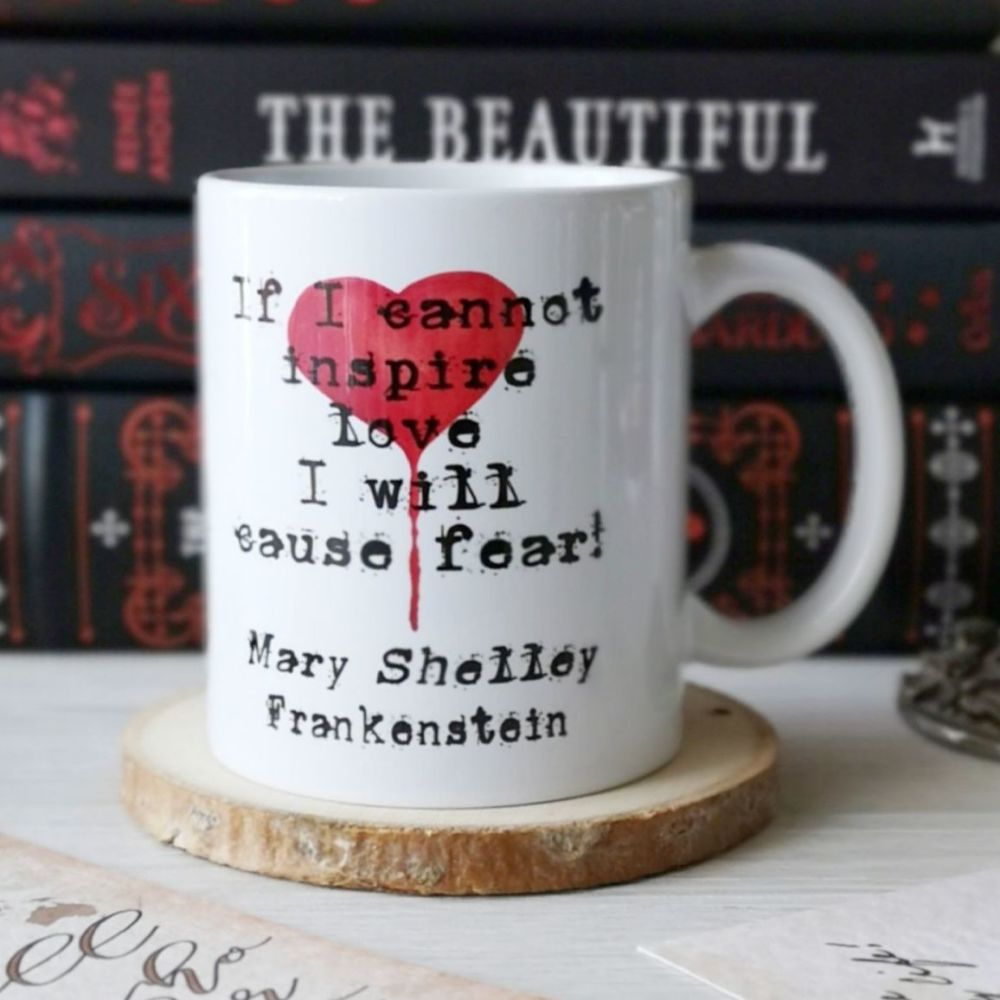 Mary Shelley Gothic Frankenstein Mug