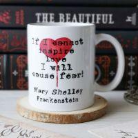 Mary Shelley Gothic Frankenstein Mug