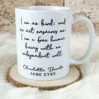 Jane Eyre, Charlotte Bronte Mug,
