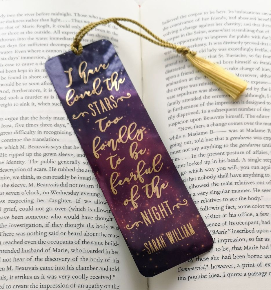 Galaxy Night & Stars Bookmark