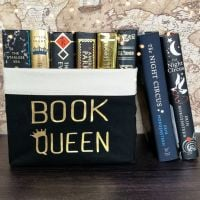 Canvas Organiser Book Queen Crown (Large)