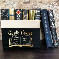 Book Lover Canvas Organiser (Large)