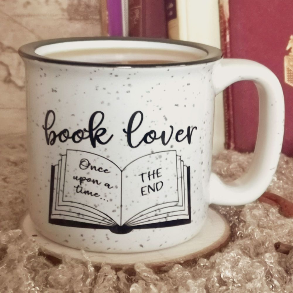 Book Lover Rustic Campfire Mug