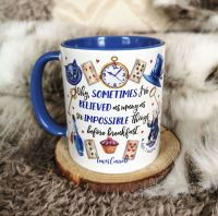 Alice In Wonderland Mug For Book lovers