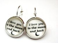 Love you to the moon and back earrings1