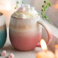 Pink Ombre Glazed Mug