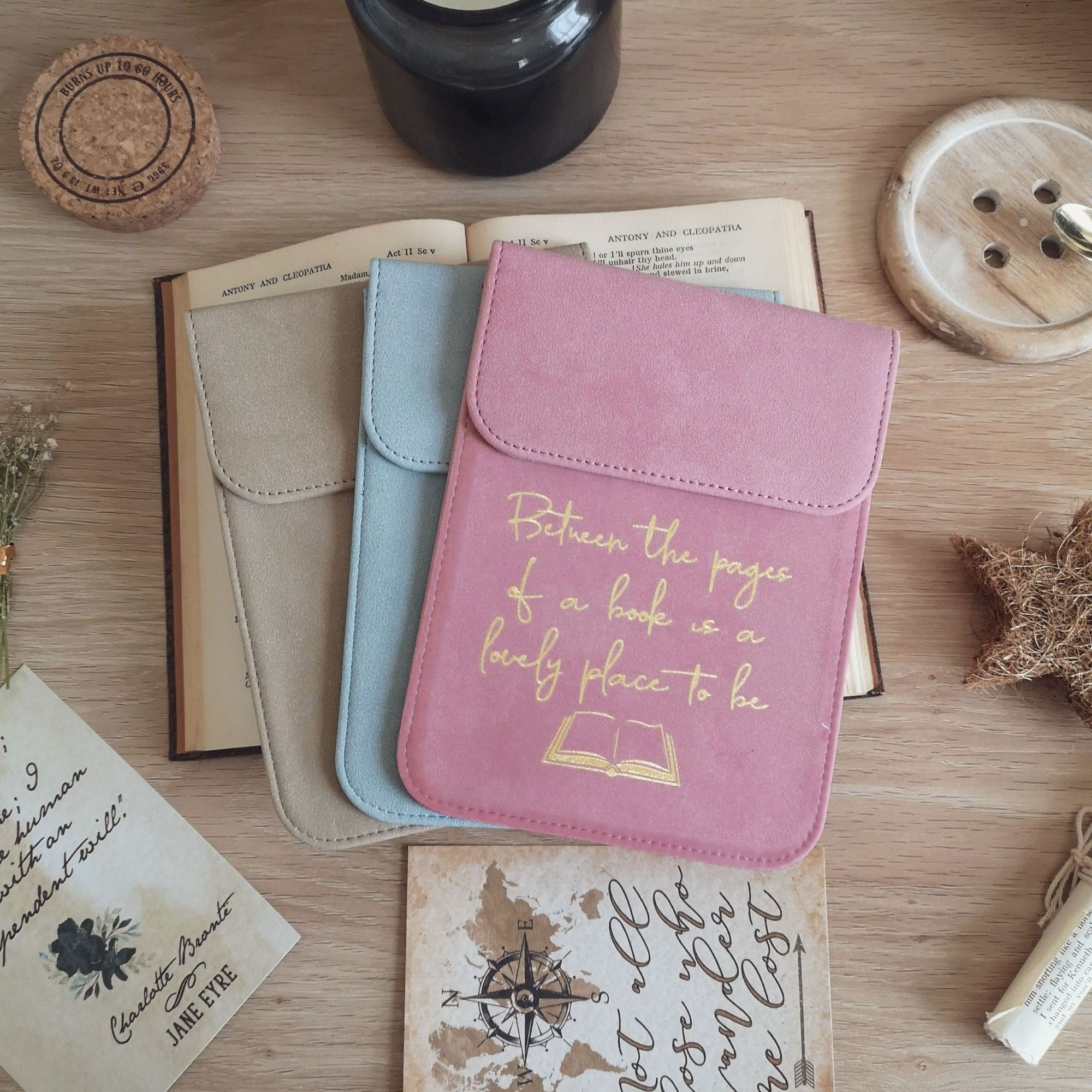 Bookish Quote Book Sleeve