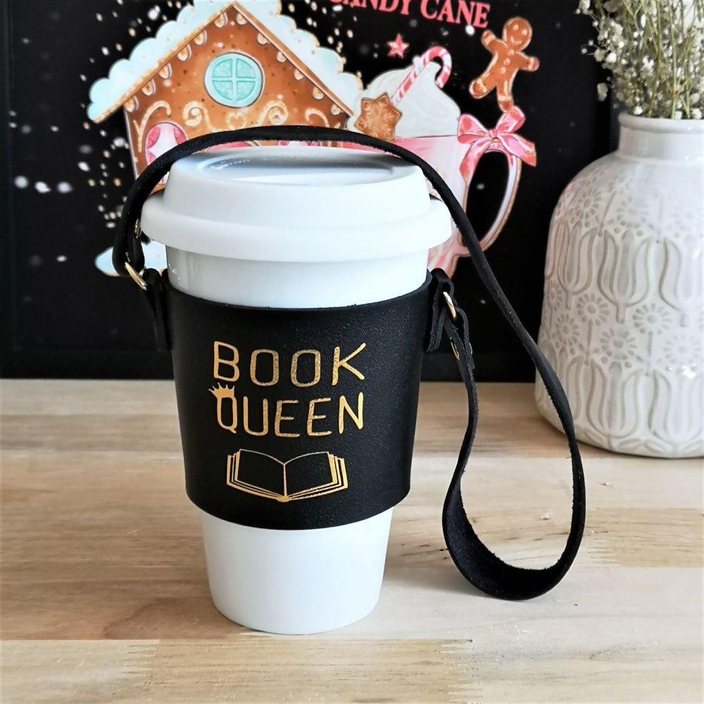 Coffee Cup Sleeve, Book Queen